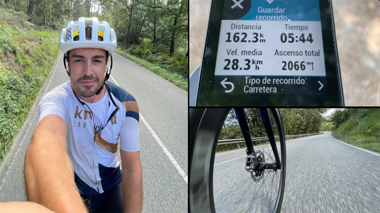 La-vueltecita-en-bici-de-Fernando-Alonso,-160-km-a-casi-30-km-hora-y-2.000-metros-positivos