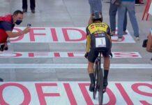 Primoz Roglic se viste de rojo. Primer líder de La Vuelta Ciclista a España 2021