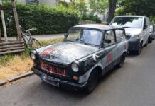 Siete detenidos con 80.000 euros en bicicletas robadas en un vehículo