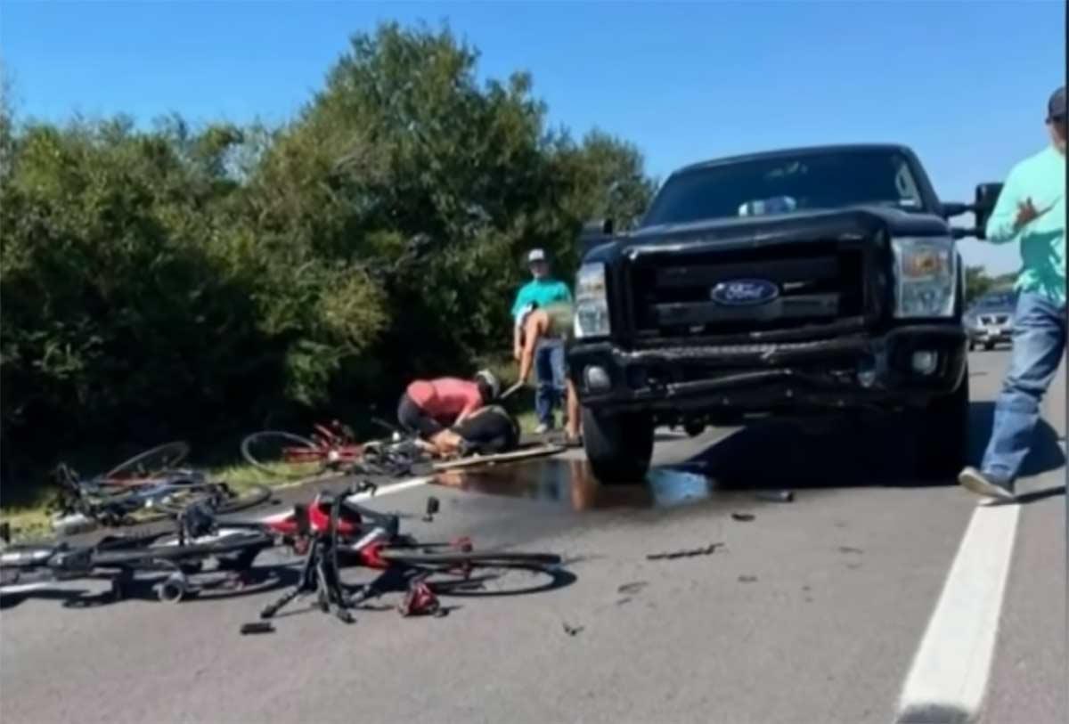 6 ciclistas atropellados por un joven de 16 años que hacía