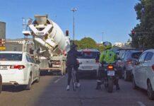 """Ayuntamiento de Madrid: """"Las motos no molestan en las aceras, las bicicletas sí""""!"""