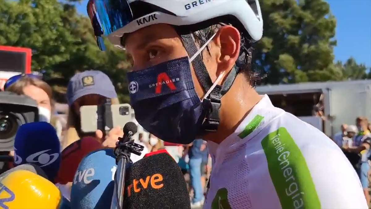 Egan Bernal sobre López: