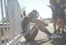 Roban las bicicletas Bianchi del equipo ciclista profesional Team BikeExchange femenino