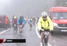 Vídeo: El diluvio y la desilusión de miles de ciclistas en la Quebrantahuesos 2021