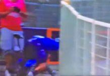 Vídeo: Alejandro Valverde entra por los suelos pero gana la etapa en Sicilia