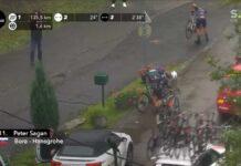 Vídeo: Dura caída de Peter Sagan en la París-Roubaix 2021